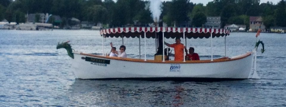 Steam Boat on Devils Lake