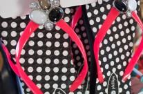 Super cute sandals! Who doesn't love polka dots?