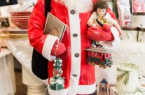 Hand Made Santas