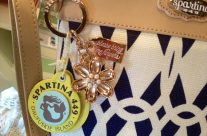 Adorable Spartina Keychains