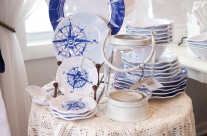 Adorable new nautical kitchenware