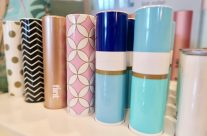 Adorable FLINT! The stylish lint roller you can keep in your purse!