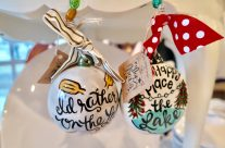 Cute Lake Ornaments