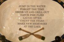 Make New Memories At The Lake